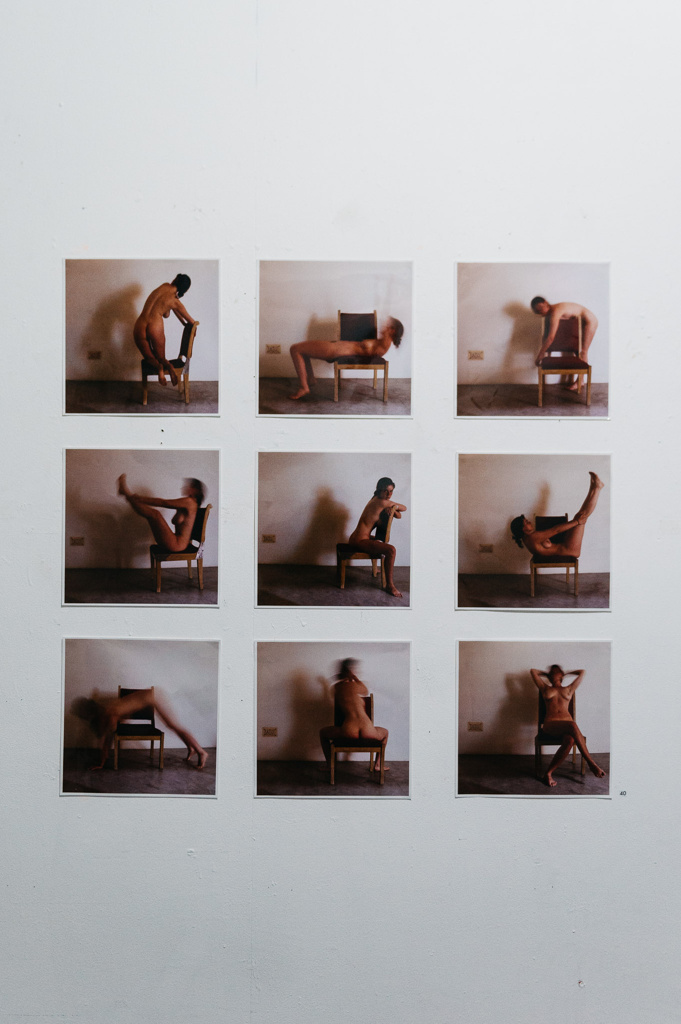 Fi Noble self portraits - Epitome of HER exhibition