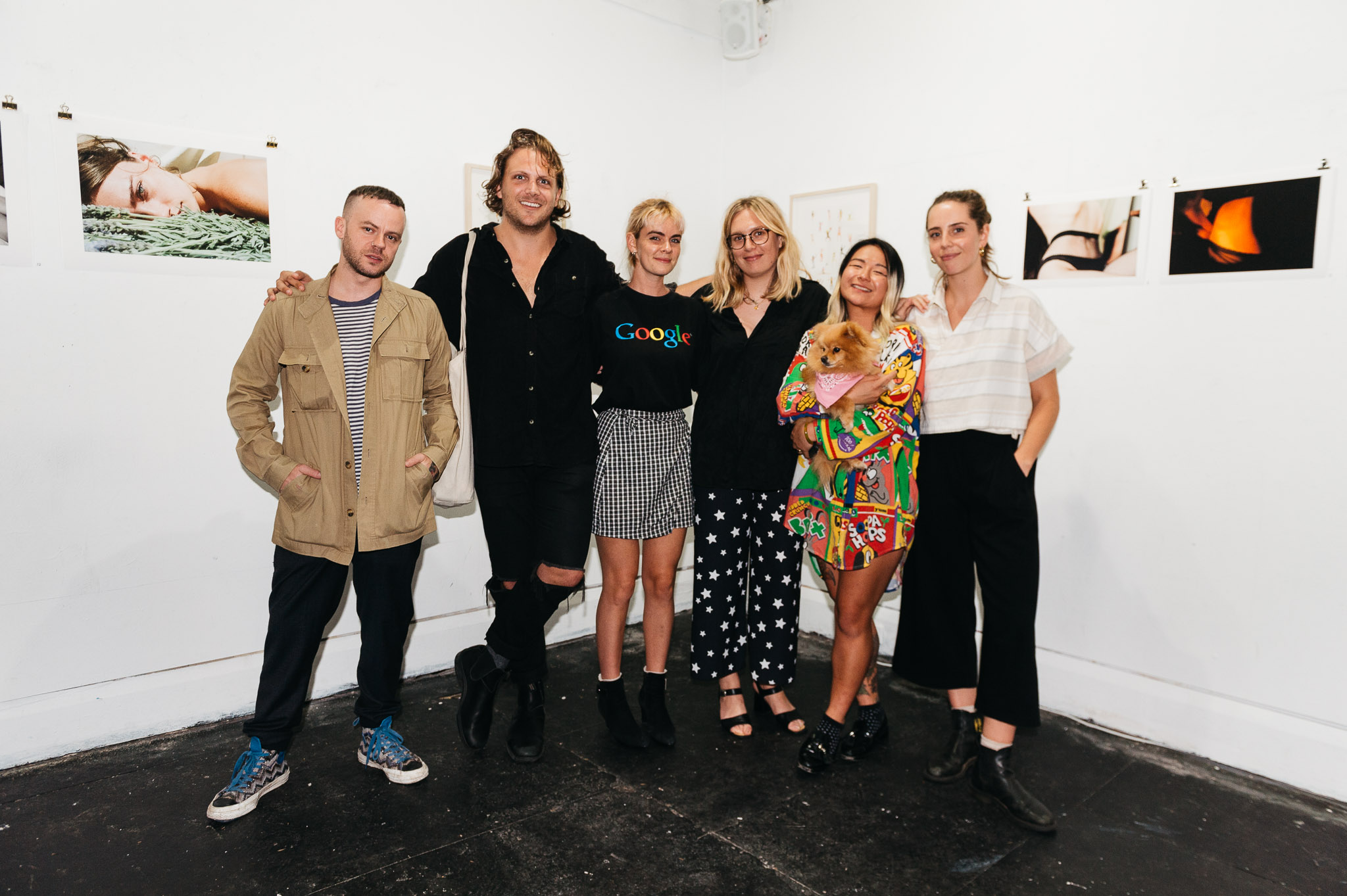 Aaron VIII, Will Halstead, Fi Noble, Simone Taylor, Marisa Mu, Grace Dobson - Epitome of HER exhibition artists