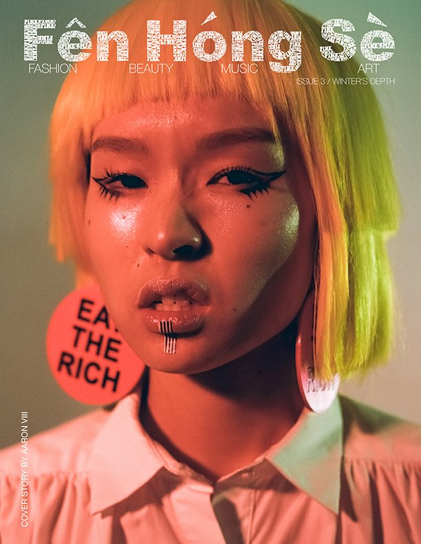 Cindy Wang GRAPHIC CONTENT Fen Hong Se Cover Story