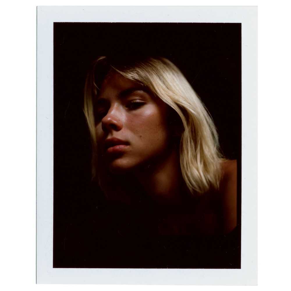 Medium Format FP100C Polaroid of Lotte Weissbach by Aaron VIII for Astrophe Magazine