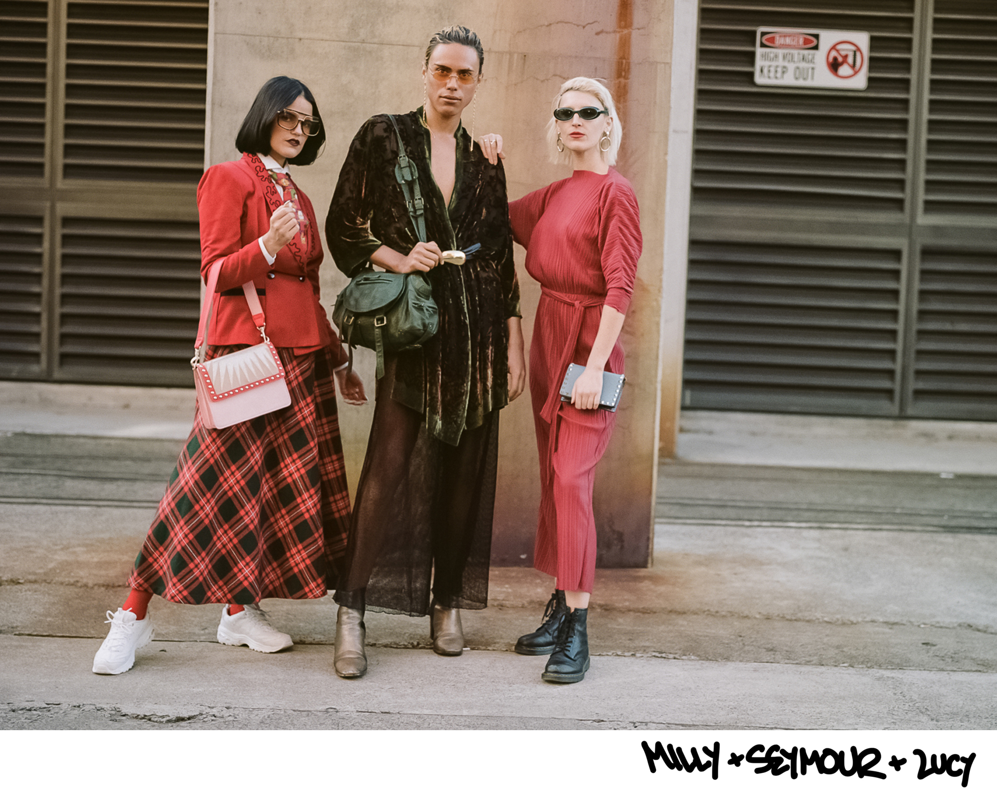 Millie Sykes, Seymour Tancred & Lucy Alcorn MBFWA