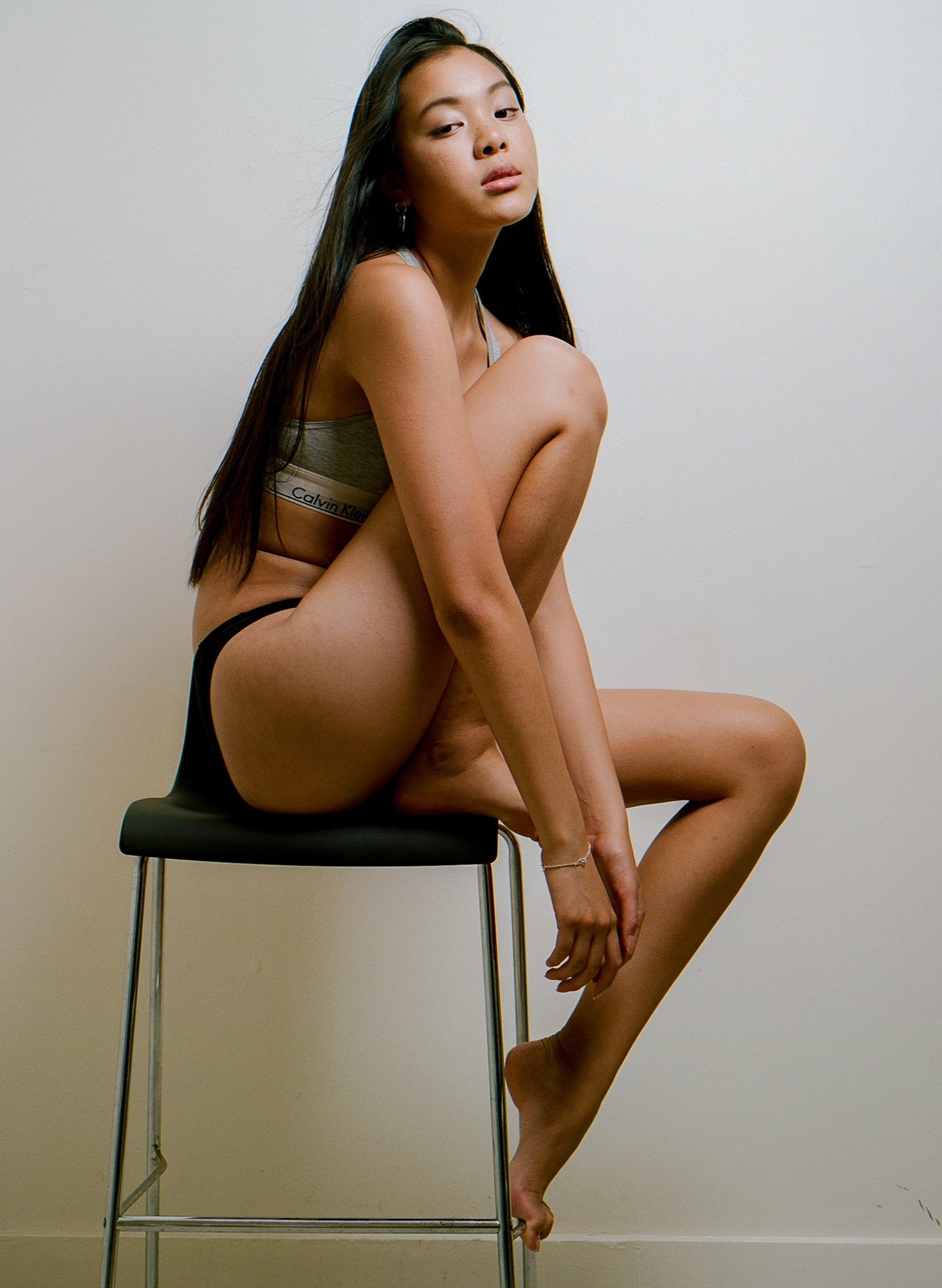 Ailene Wu raw beauty shoot on film by Aaron VIII
