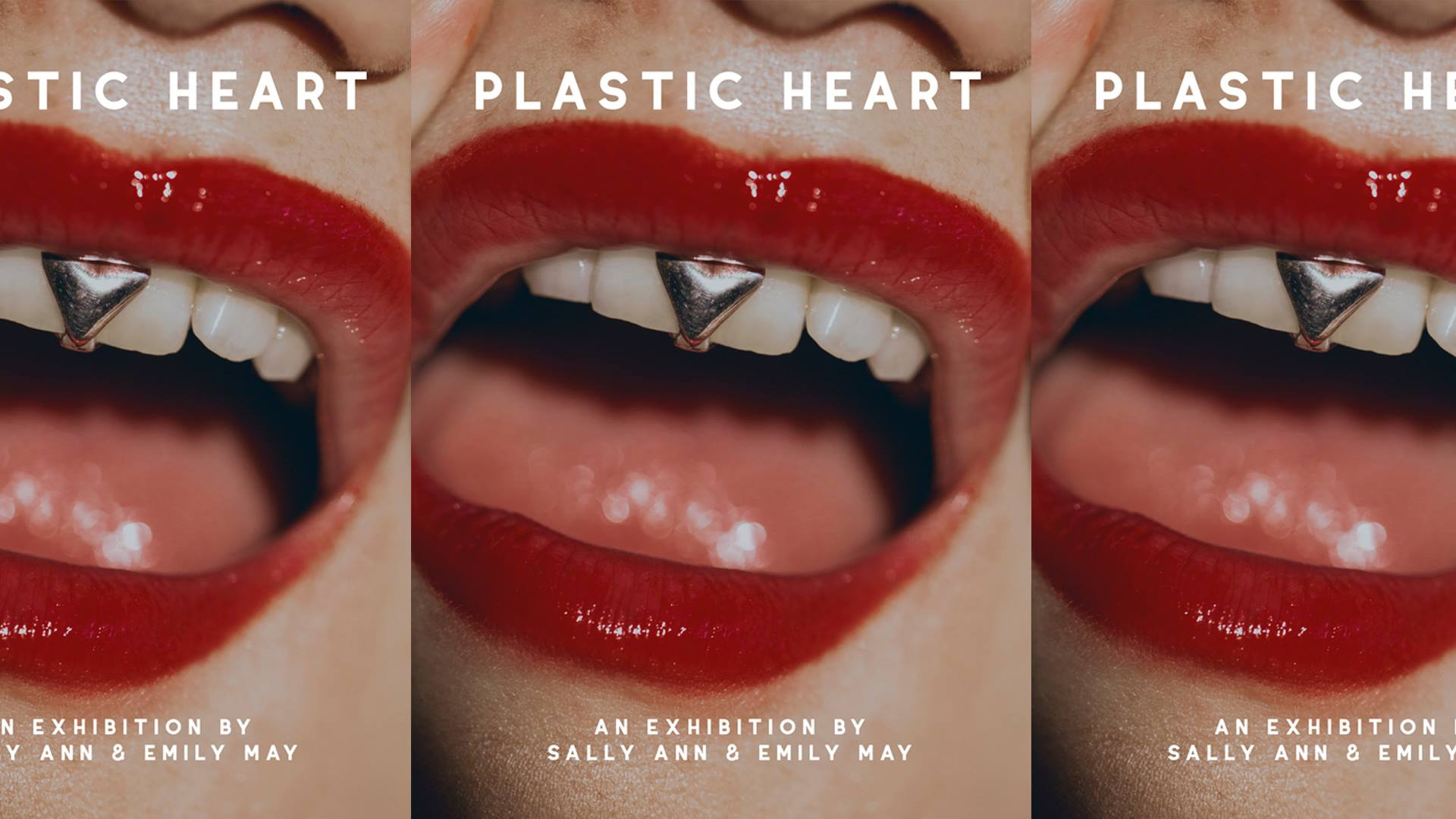 Sisters Sally-Ann and Emily Gunawan held their exhibition PLASTIC HEART at Goodspace
