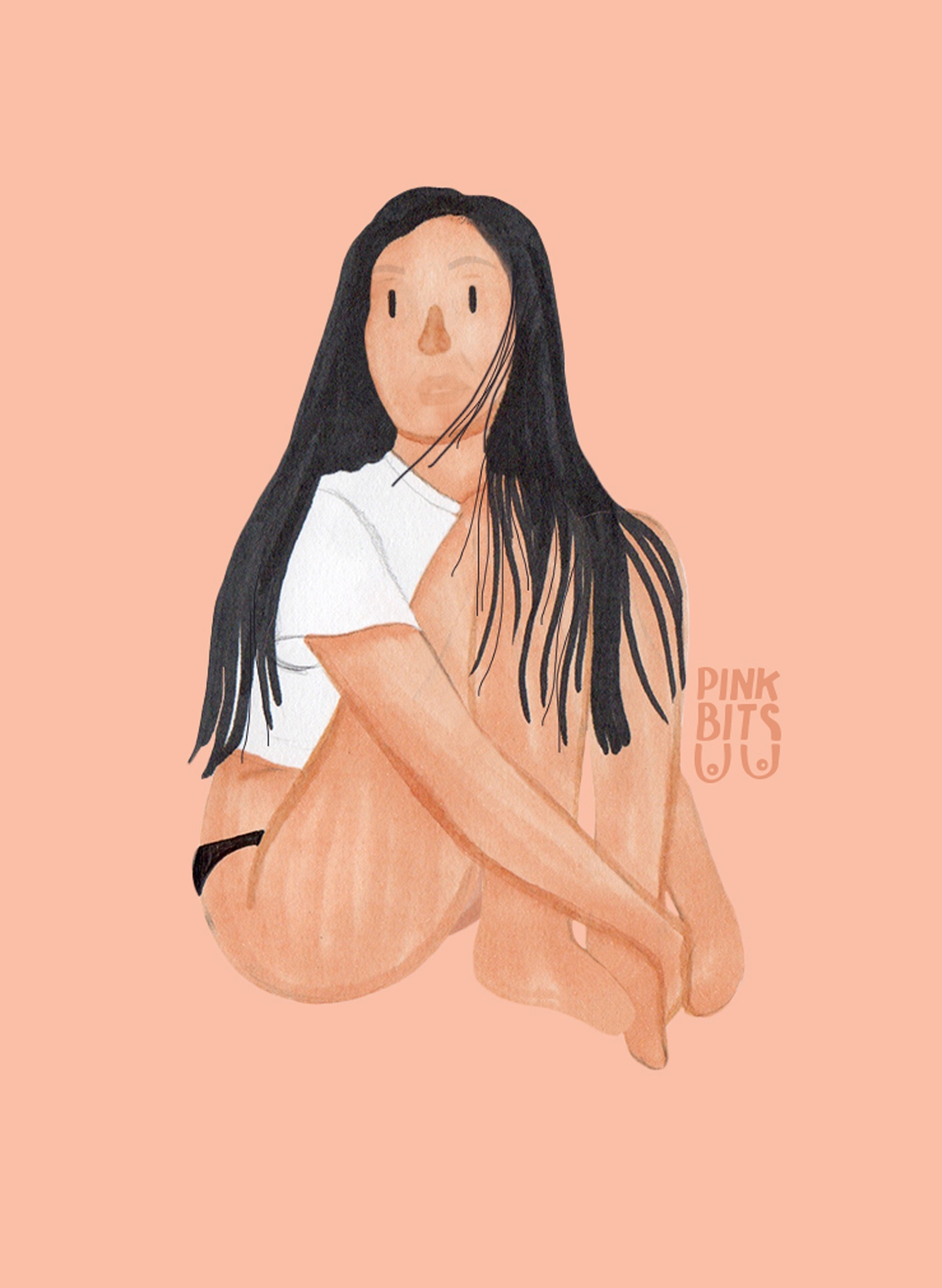 Pink Bits did this illustration of Ailene Wu based on my original photography. Super cute!