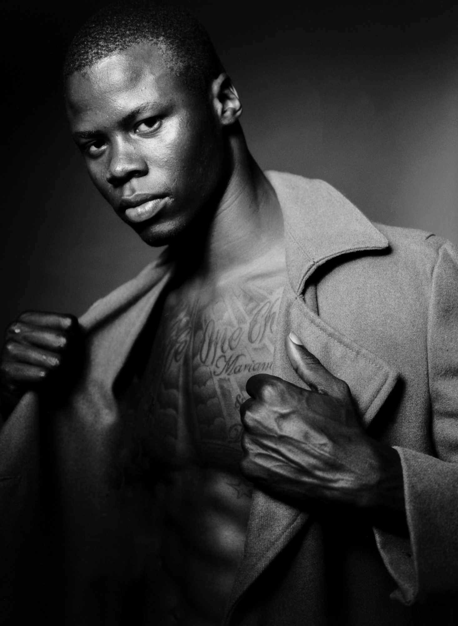 Anei Dut IMG homme go see by Aaron VIII