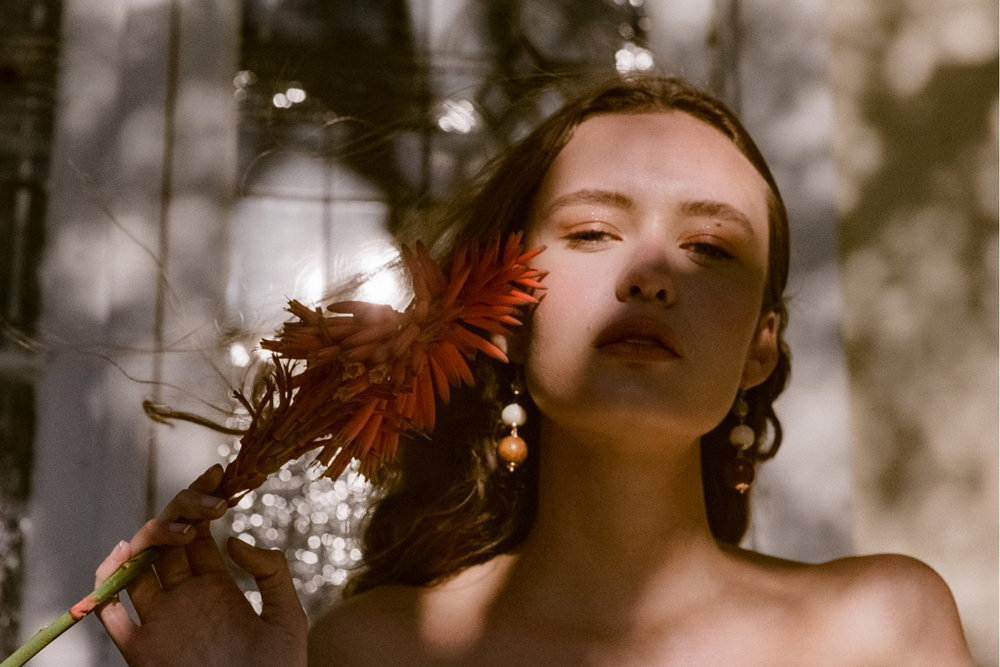Fashion story with Emma Kelsey at Chadwick Models for Backyard Opera shot on film by Aaron VIII