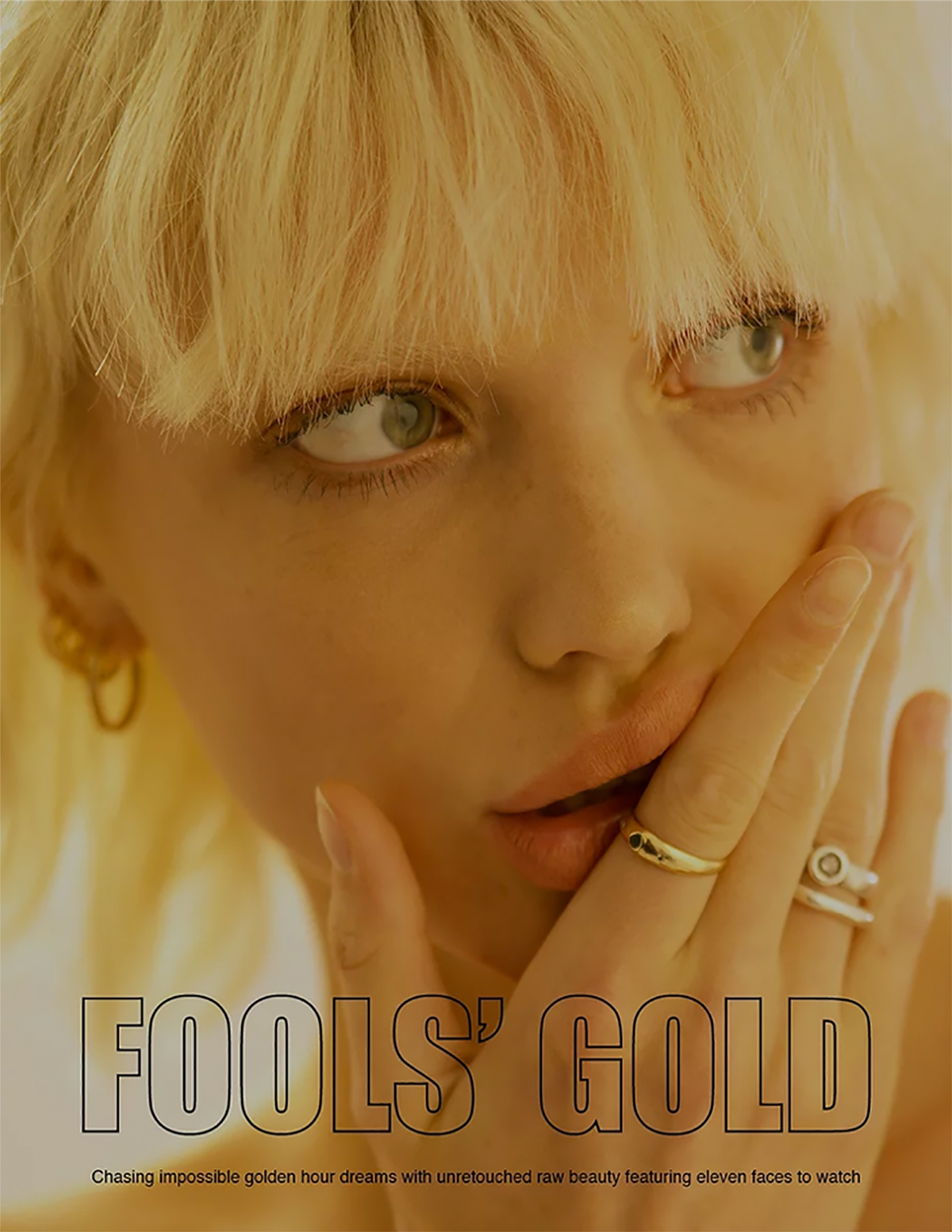 Model Jolina Sofie from Kult Australia in FOOL's Gold for Astrophe Beauty by Aaron VIII