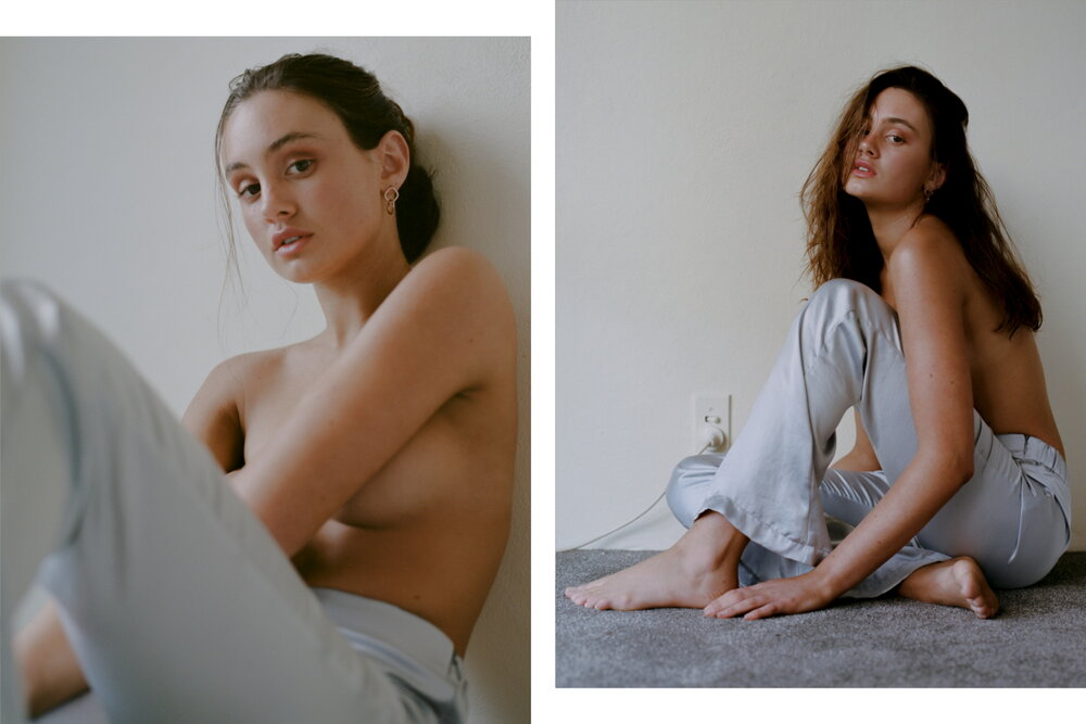 Model Savannah Laine from NEUE MGMT shot on film by Aaron VIII