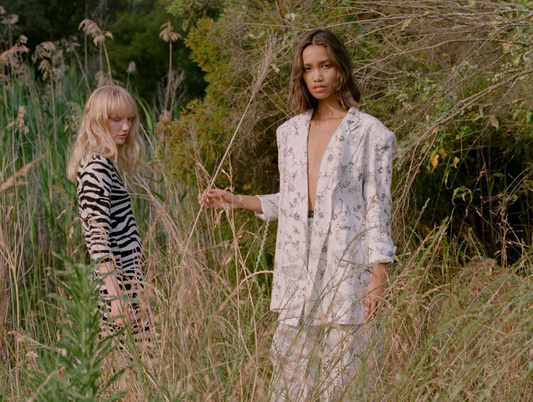 Khai wears Leo & Lin suit, Zhon wears Kate Sylvester dress. Shot on film by Aaron VIII