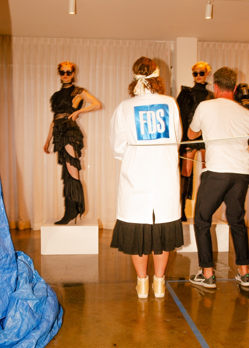 Tafe NSW FDS Fashion Design Studio Industry Night 2019 Future of Fashion Graduate presentation