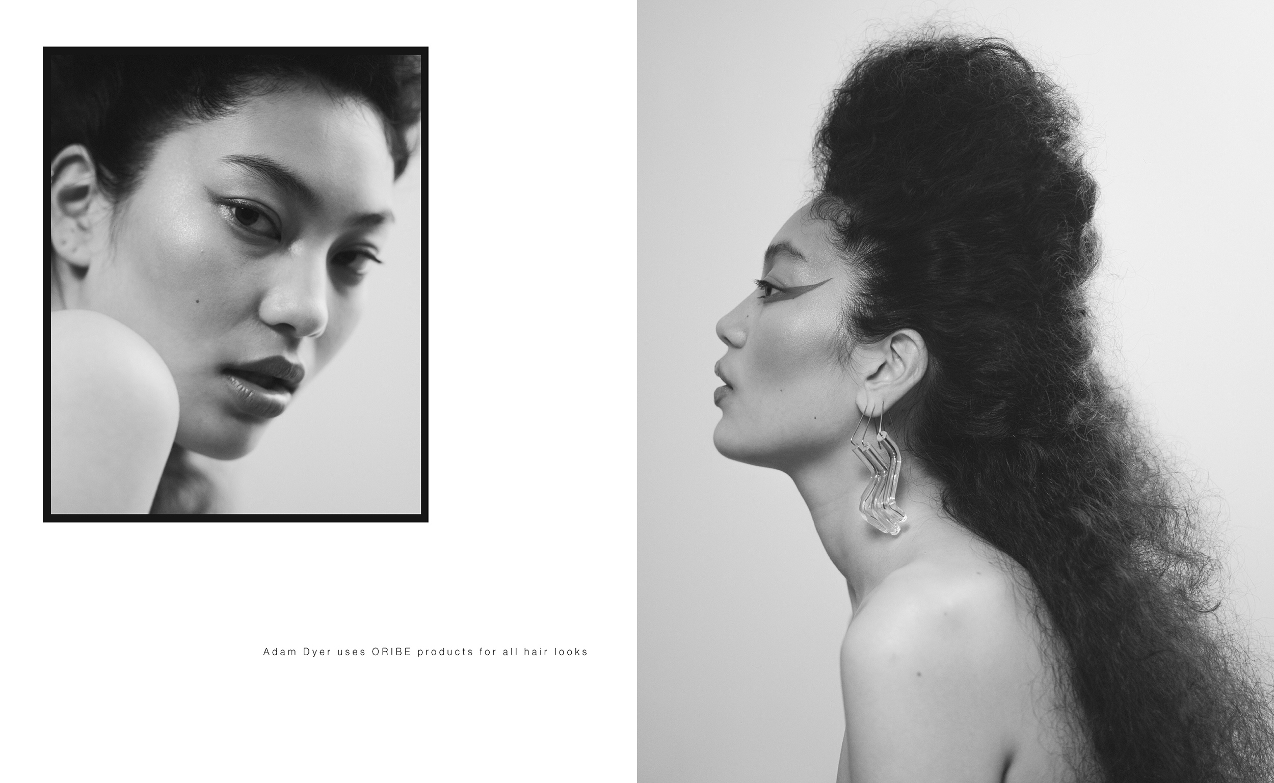 Marlo Hsieh fashion beauty editorial shot on medium format film by Aaron VIII